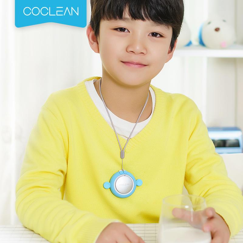 XIAOMI CoClean K1/K2 Purificador de aire portátil Eliminación de iones negativos de Smog PM2.5 para cuidado de niños Salud