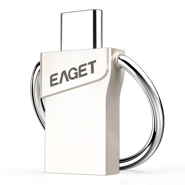Original EAGET CU66 Type-C and USB3.0 2 in 1 Flash Drive For Smartphone Computer Laptop