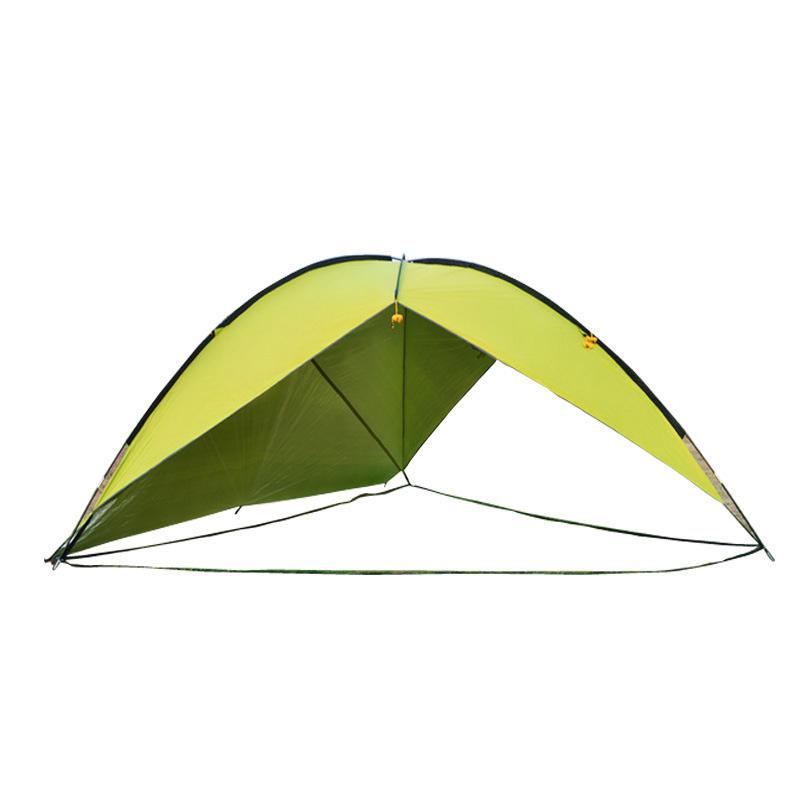 Outdoor Large Three Sided Camping Tent Rainproof Uv Beach Sunshade Canopy Awning Cod