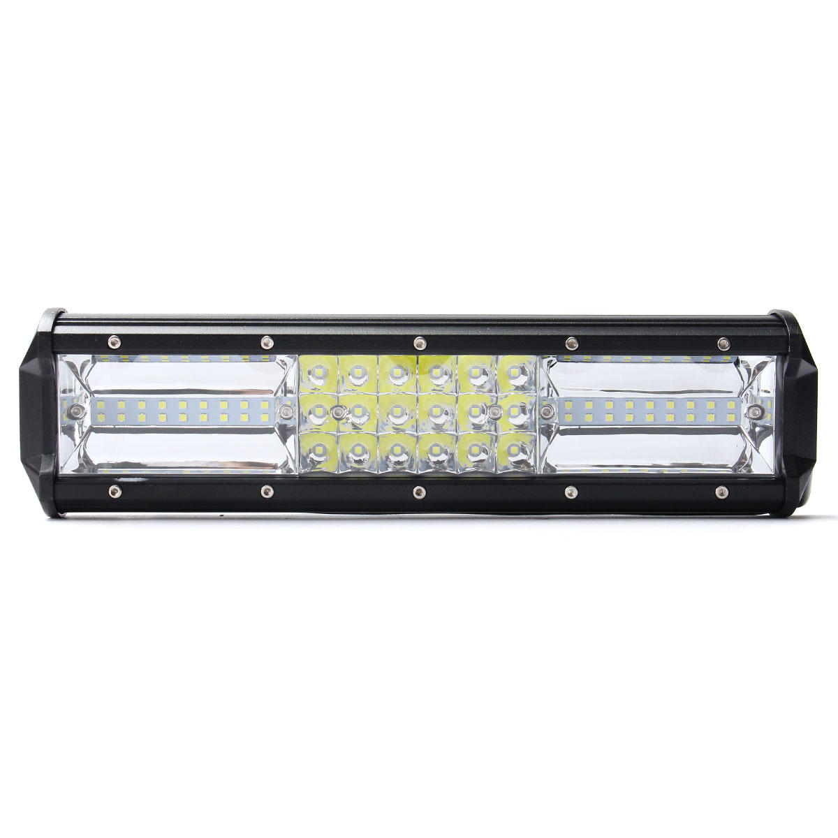 12 inch 324w led light bar flood spot combo off road car truck 10 rh banggood com