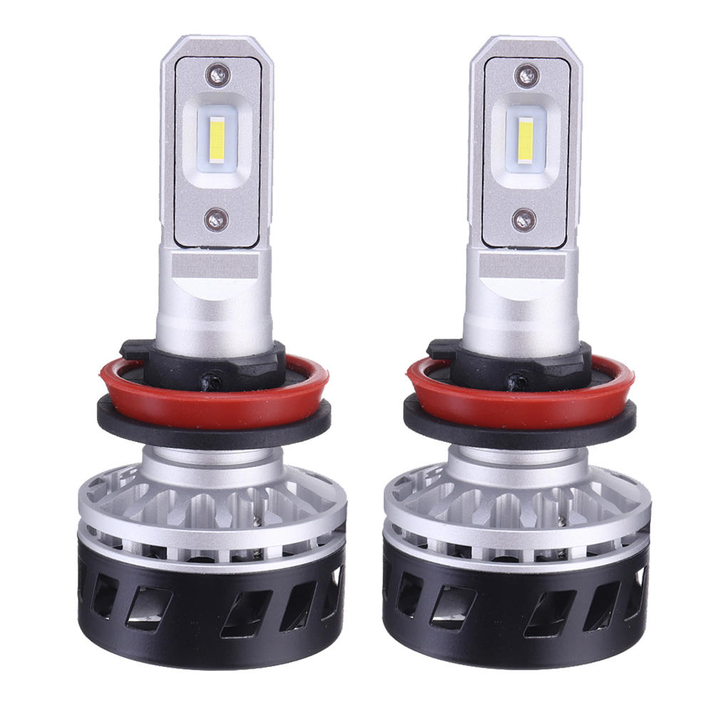 Markcars F1 Car LED Headlights H1 H4 H7 H11 9005 9006 9012 DC12-24V 50W 5000LM 6500K White