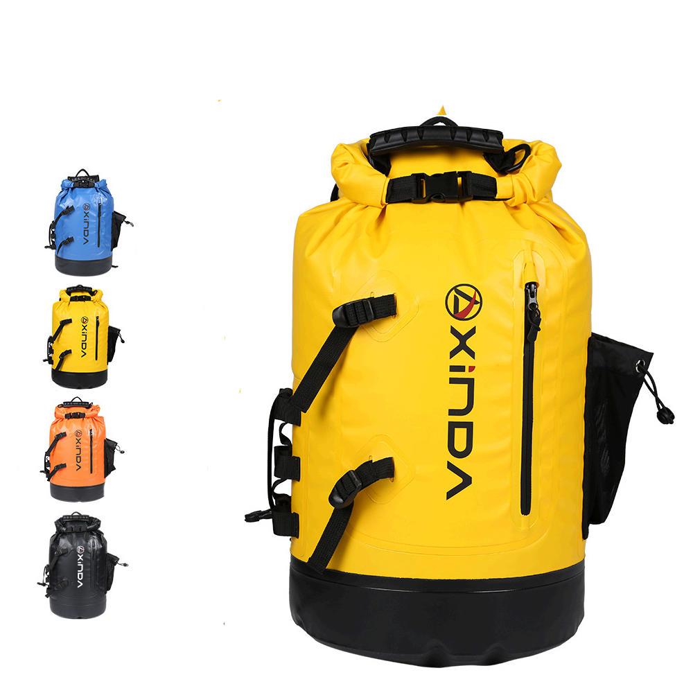 Outdoor Portable Pvc Waterproof Backpack Storage Sack Kayak Rafting Bag Sport Bags Travel Equipment Street Price Climbing Bags