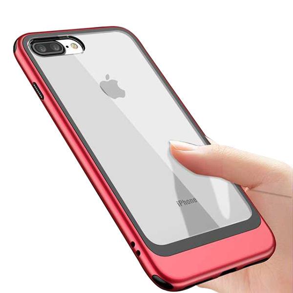 Bakeey Прозрачный прозрачный защитный Чехол Для iPhone 7 Plus/8 Plus Воздушные подушки для утюга ТПУ Чехол