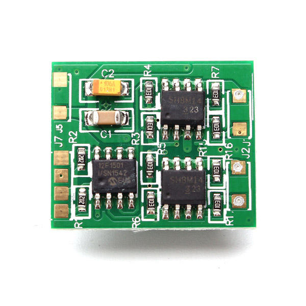 DasMikro 2S6A Micro Dual Bi-Directional Speed Controller for Tank Crawler and Boat without Brake