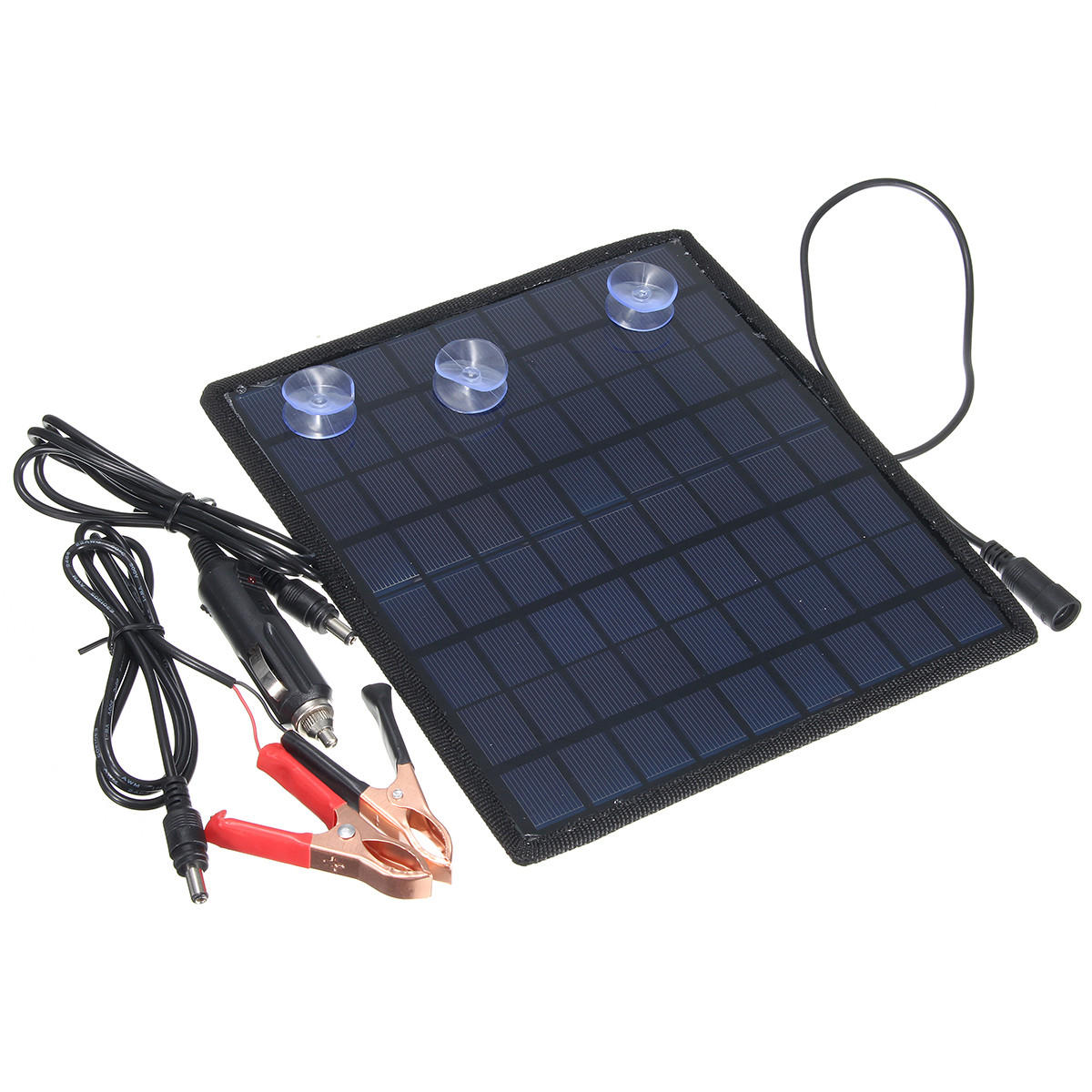 12v 55w Smart Car Boat Solar Panel Power Battery Charger For Automobile Motor P