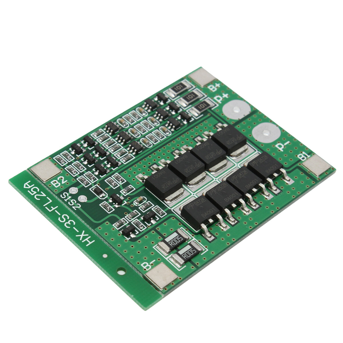 3s 111v 25a 18650 Li Ion Lithium Battery Bms Protection Pcb Board Is Calculated With The Other Replaced By A Short Circuit Balance