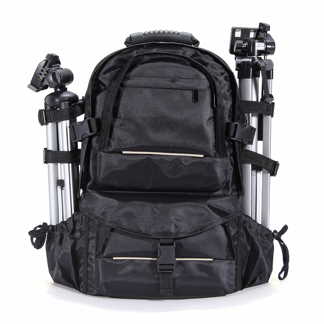 Waterproof Nylon Camera Backpack Bag With Rain Cover For Canon Nikon ... 74bc08448ba3d