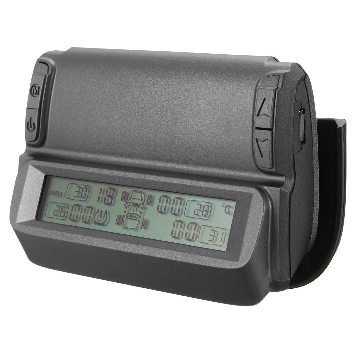 Dispositifs de pression de surveillance de la température des pneus de véhicule automobile solaire sans fil