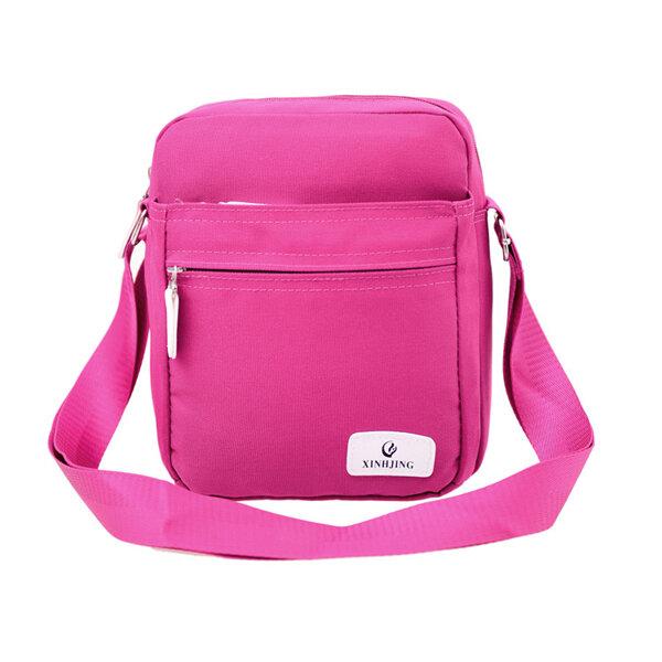 Women Canvas Outdoor Sport Casual Shoulder Crossbody Bag