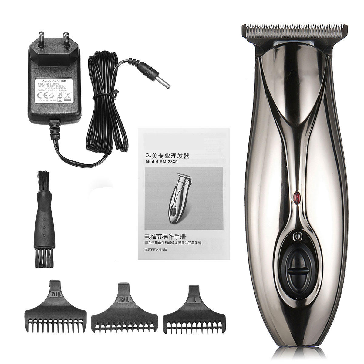 Mini Electric Hair Clippers Cordless Pusher Head Shaver Hair Trimmer Clipper For Men