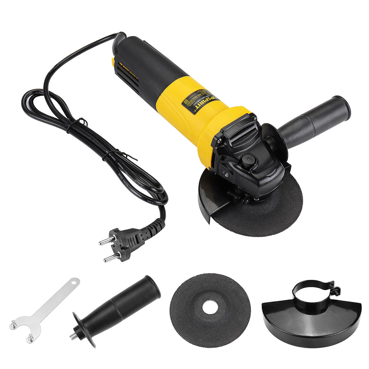 Ac220v 880w Electric Angle Grinder Heavy Duty Sanding