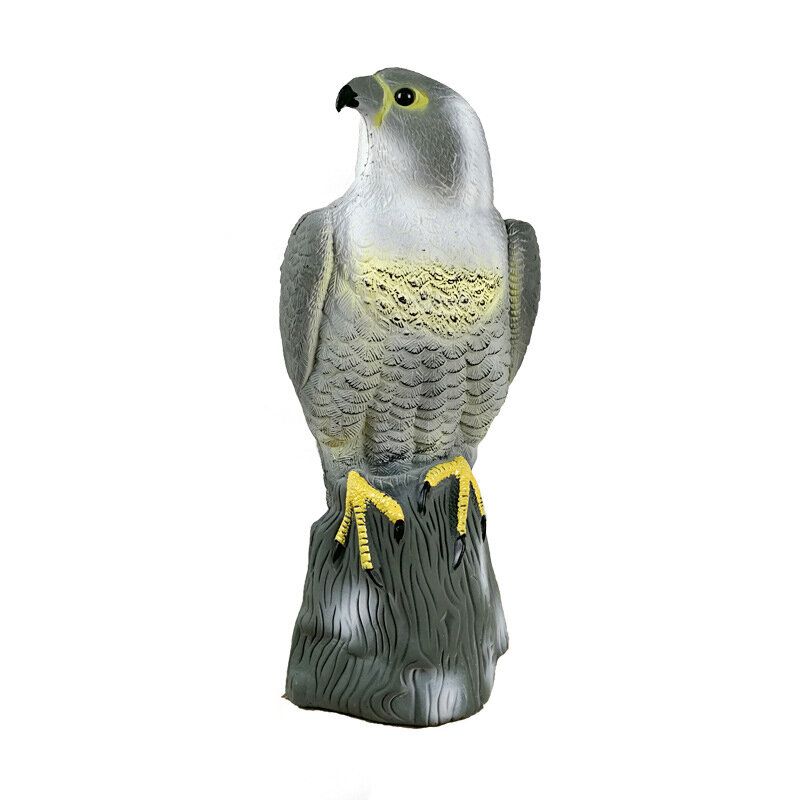 Outdoor PE Lifelike Realistic Eagle Hunting Decoy Training Shooting Target Animal Archery Target