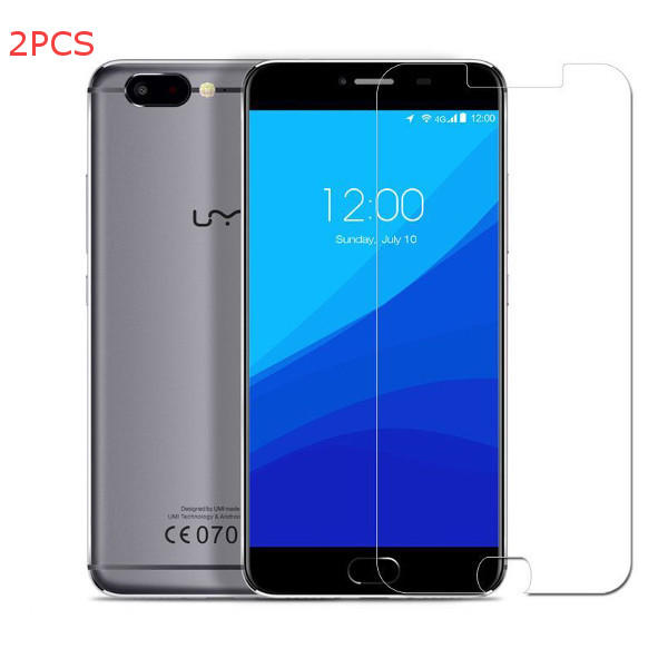 2PCS Clear Anti-Explosion Tempered Glass Screen Protector For UMI Z UMI Z PRO