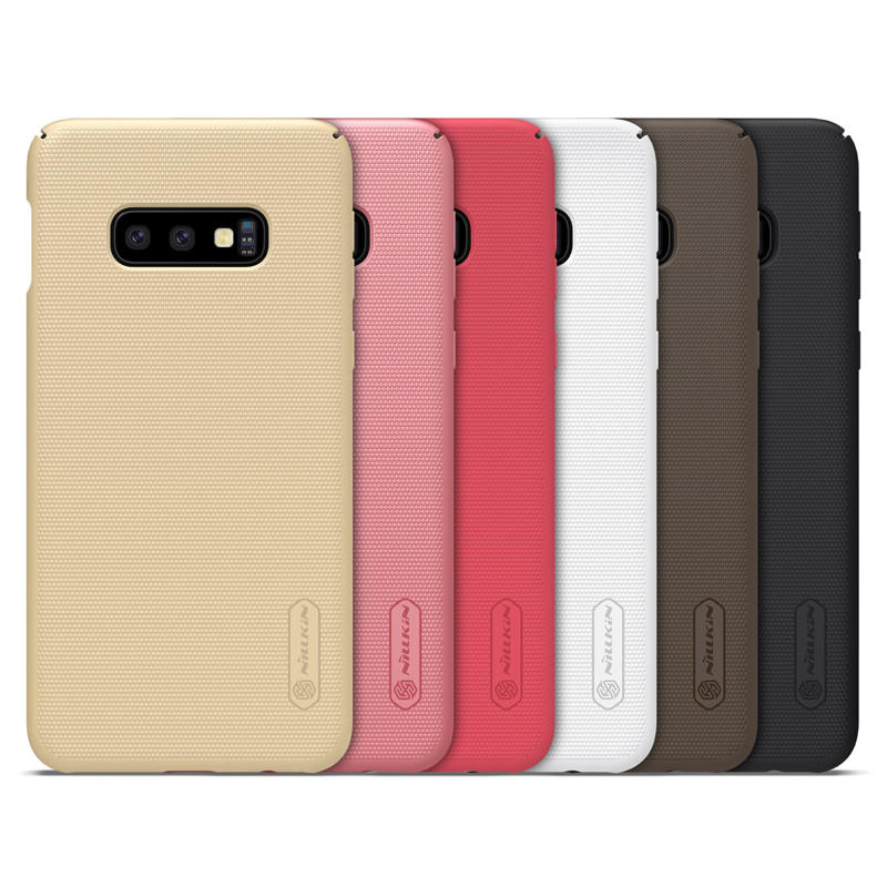 NILLKIN Matte Shockproof Hard PC Back Cover Protective Case for Samsung Galaxy S10 Lite / Samsung Galaxy S10e