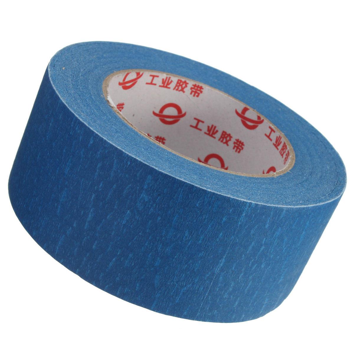 50mmx50m 50mm Ancha Impresora de 3D Cinta Azul Repelente de Cinta de Cama Cinta Para Piezas de la Impresora de 3D