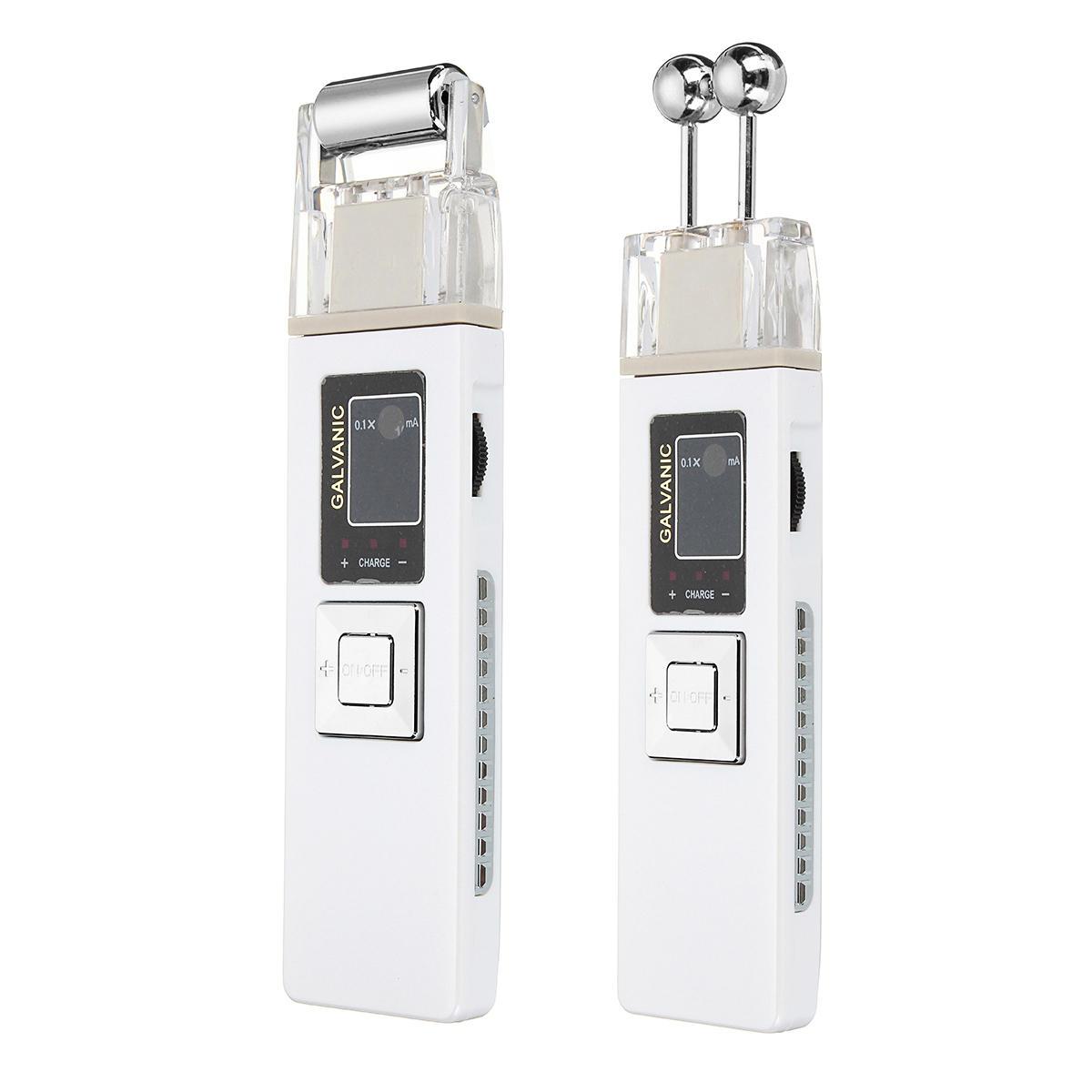 Máquina reafirmante de la piel de microcorriente galvánica Masajeador eléctrico antienvejecedor Limpieza facial
