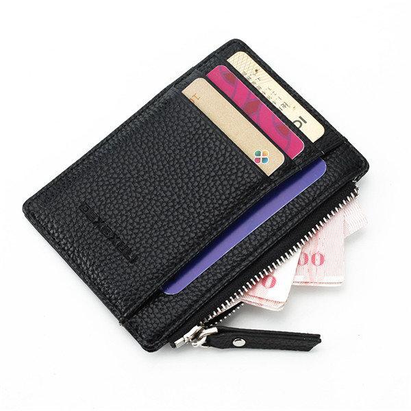 e5e0614a056 slim super thin business card holder zipper credit card case coin bags  portable purse at Banggood sold out