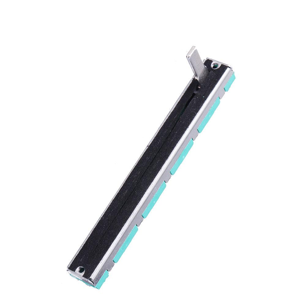 B103 75mm Mixer Fader B10K Dual Channel Straight Slide Potentiometer