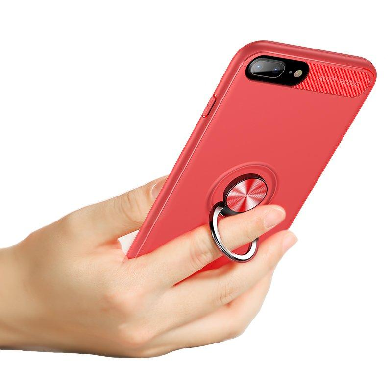 Bakeey 360º Rotating Ring Grip Kicktand Protective Case For iPhone 8 Plus/7 Plus/6s Plus/6 Plus