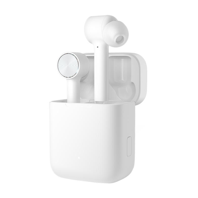 Original Xiaomi Air TWS True Wireless Bluetooth Earphone Active Noise Cancelling Smart Touch Bilateral Call Headphone – white