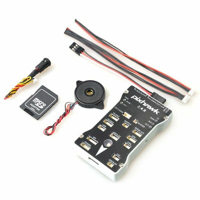 Pixhawk PX4 2.4.8 Flight Controller 32 Bit ARM PX4FMU PX4IO Combo for RC Drone FPV Racing