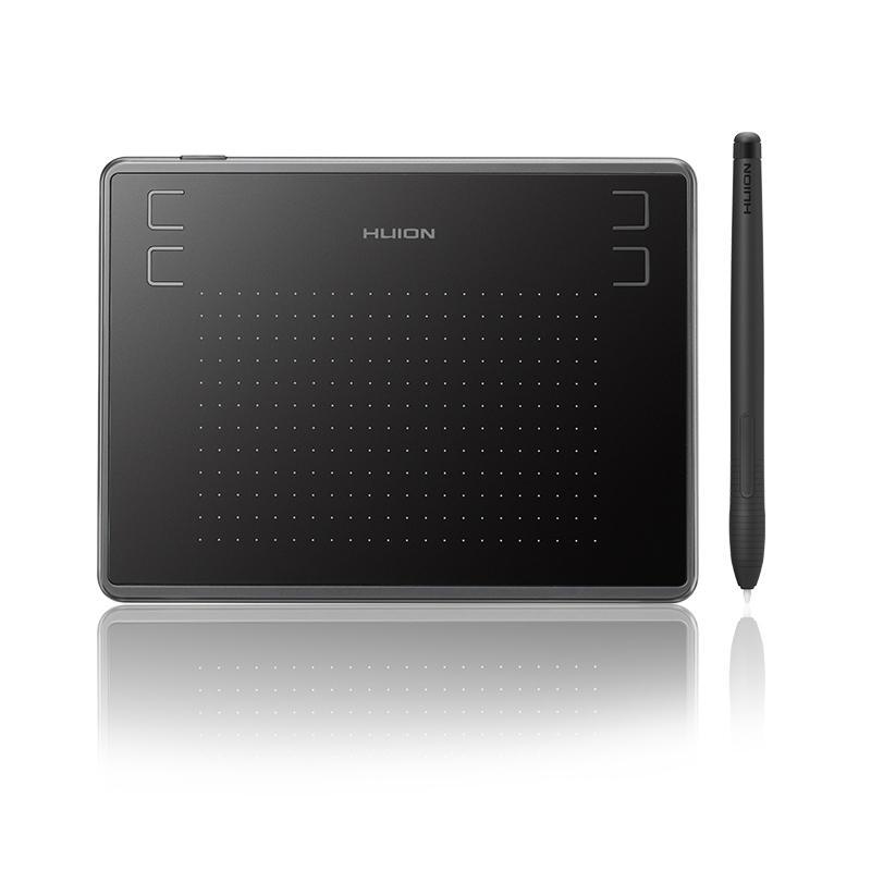 HUION H430P Tableta digital Dibujo de gráficos de firma Pluma Tableta Tableta de juego sin batería del juego OSU