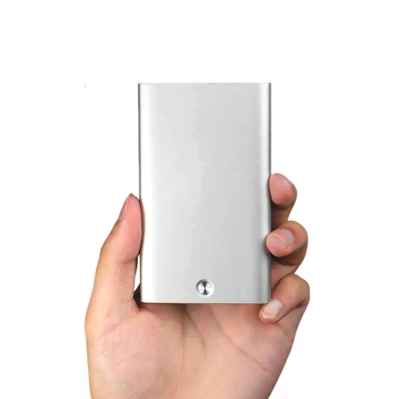 Xiaomi Miiiw Automatic Pop Up Business Card Holder Slim Metal Name
