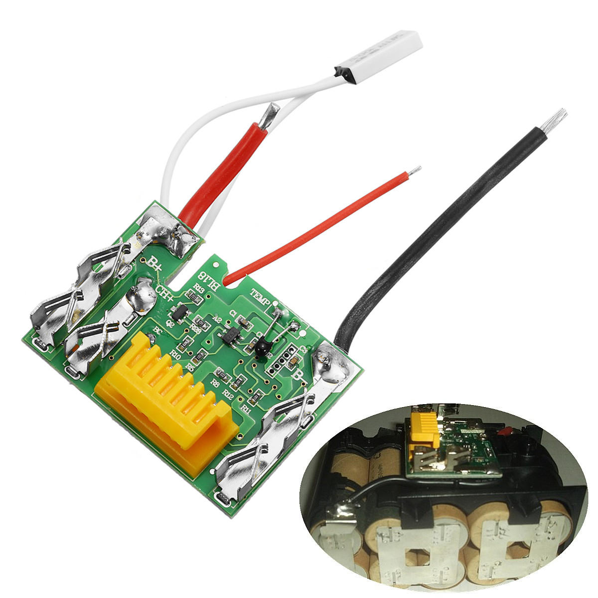 18v Li Ion Battery Protection Circuit Module Board For Makita Drill How To Read Electronic Diagrams Tab Hobby Electronics Series