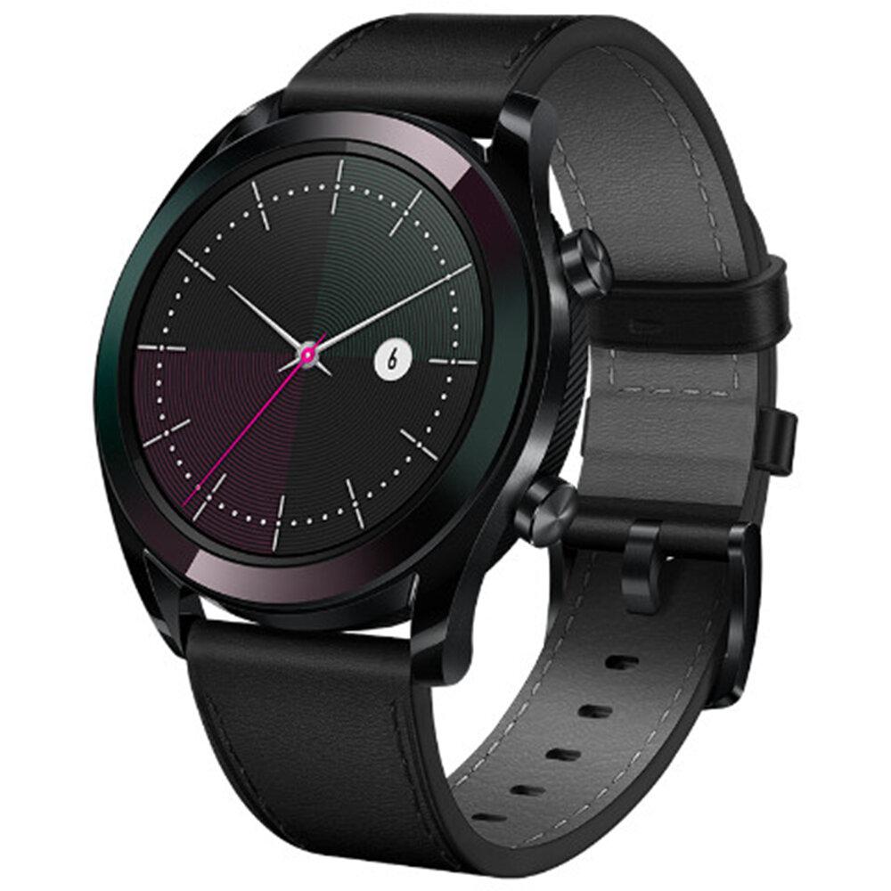 Reloj Huawei GT Versión elegante. Reloj personalizado. Cara Corazón. Rastreador de sueño. Modo deportivo. Correa QuickFit. Reloj inteligente de espera de 7 días.