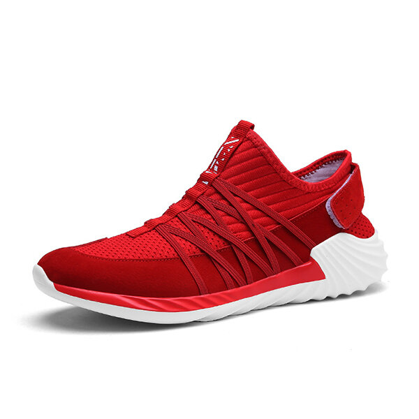 Men Casual Soft Sole Breathable Mesh Sneakers Lightweight Sports Shoes