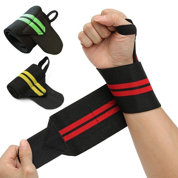 Fitness Gym Hand Wrist Support Wrap Bandage Weight Lifting Strap Brace Wristband