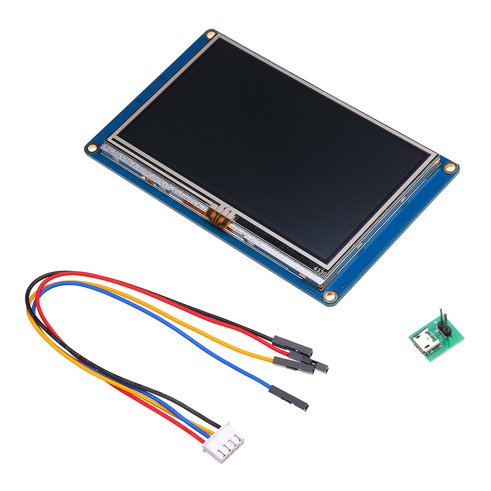 Nextion NX4827T043 4.3 Inch HMI Intelligent Smart USART UART Serial Touch TFT LCD Module Display Panel For Raspberry Pi 2 A+ B+ Arduino Kits