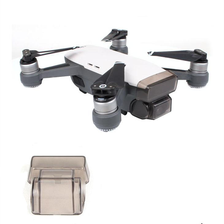 Camera Lens Protection Cover Dustproof Cap Gimbal Fixed For DJI SPARK RC Quadcopter