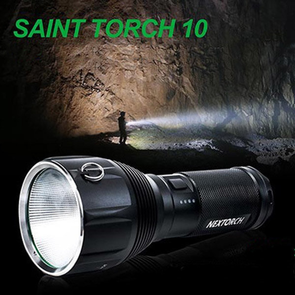 Nextorch SAINT TORCH 10 XHP70 3200LM 7-Mode Rechargeable LED Flashlight