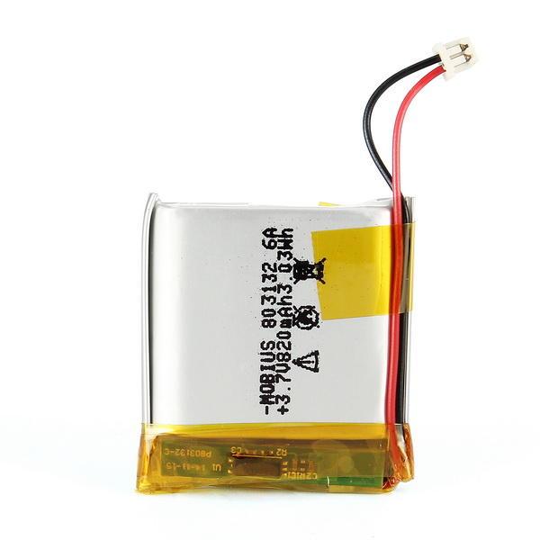 Batería de Lipo 1S 820mAh 3.7V de Cámara Mobius 2