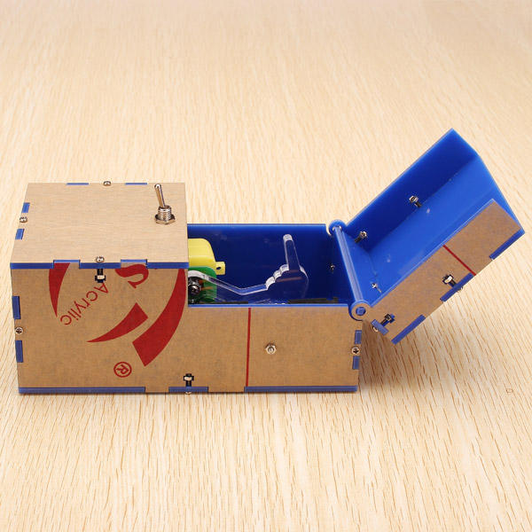 Toys Geek Gadgets : Useless box diy kit machine birthday gift toy geek