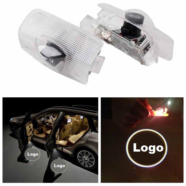 LED Araba Kapı Hoş Geldiniz Logo Ghost Shadow Light Lazer Projektör Lamba için Lexus RX300 IS250