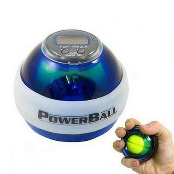 Odometer Booster Power LED Wrist Ball Grip Round Force Ball 7 Colors