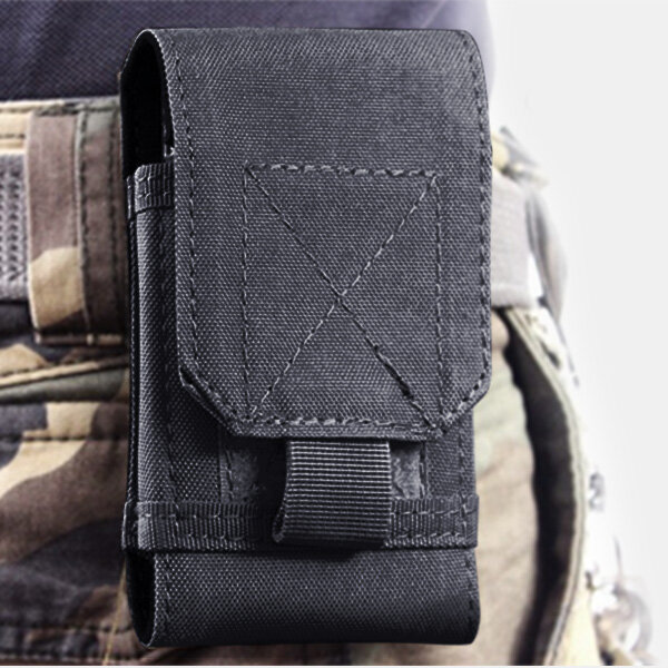 Outdoor Tactisch Taille Storage Bag Case Cover Pouch voor Smartphone minder dan 6 inch