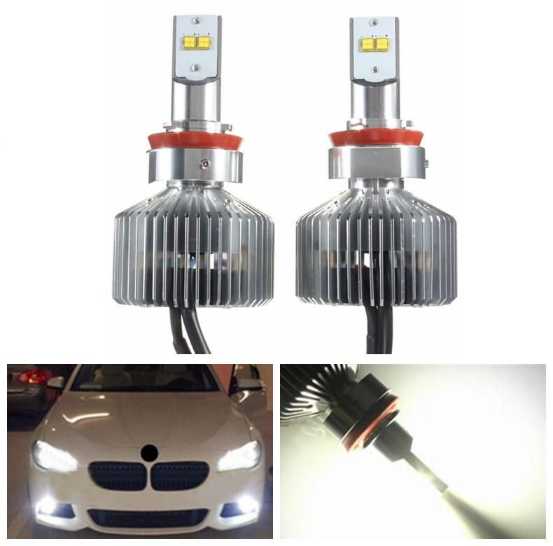 1pair 45w 4500lm 6000k H4 H7 H8 9 11 9004 9005 9006 Led Headlight