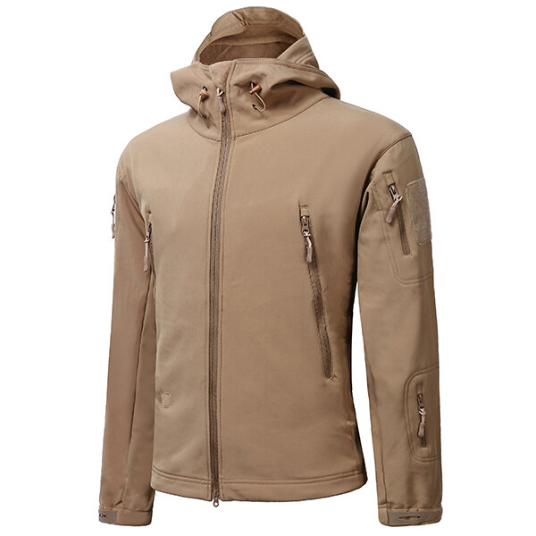 550f53d7b48a ESDY Mens Tactical Military Outdooors Waterproof Coat Soft Shell Outwear  Concealed Carry Jacket COD