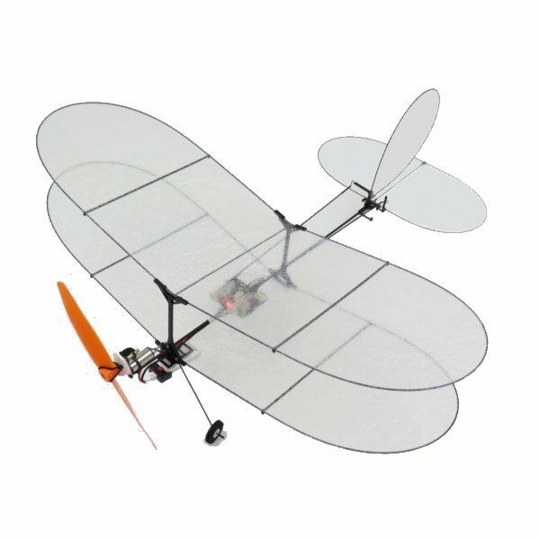 TY Model Black Flyer V2 Film en Fibre de carbone d\'Avion RC avec Système d\'Alimentation