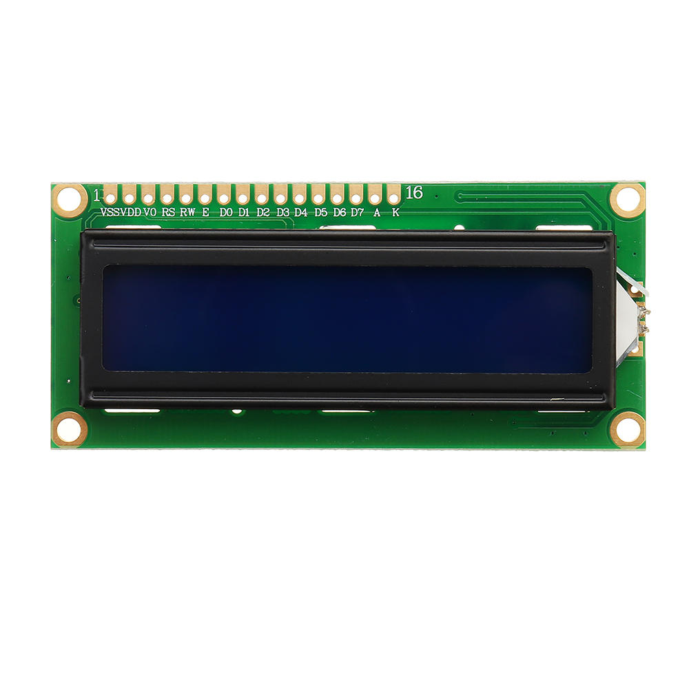 3Pcs 1602 Character LCD Display Module Blue Backlight For Arduino