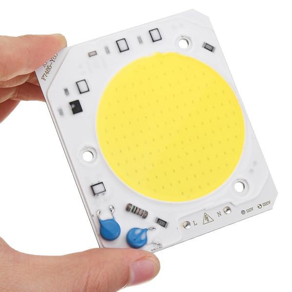 洪水光AC110V / AC220V用40W LED COBチップ内蔵スマートICドライバ