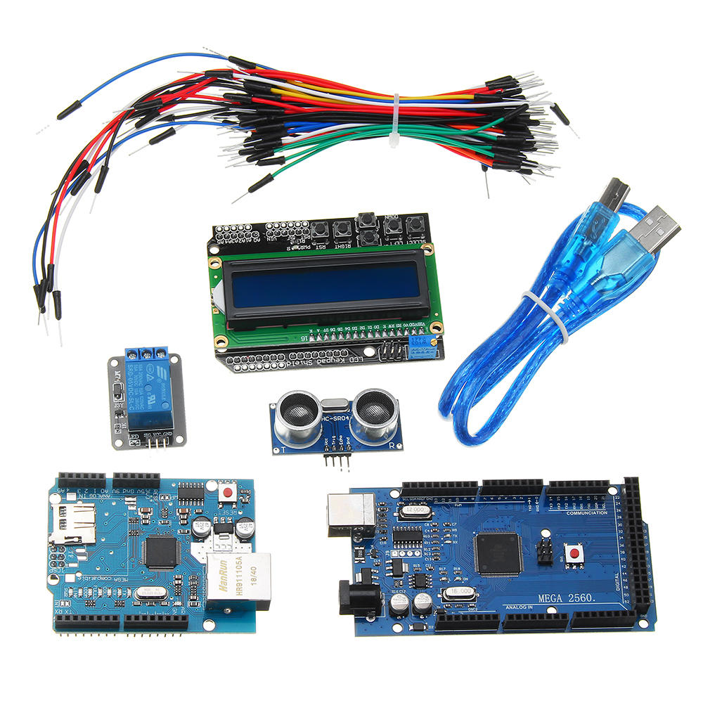 Magnificent Mega 2560 R3 For Arduino Kit Hc Sr04 Breadboard Cable Relay Wiring Digital Resources Helishebarightsorg