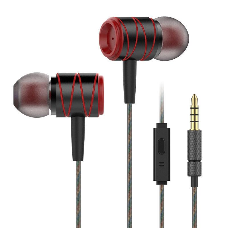 메탈 3.5mm 유선 컨트롤 인 - 이어폰 중형 이어폰 헤드폰, 마이크 용 아이폰 용 삼성 샤오 미