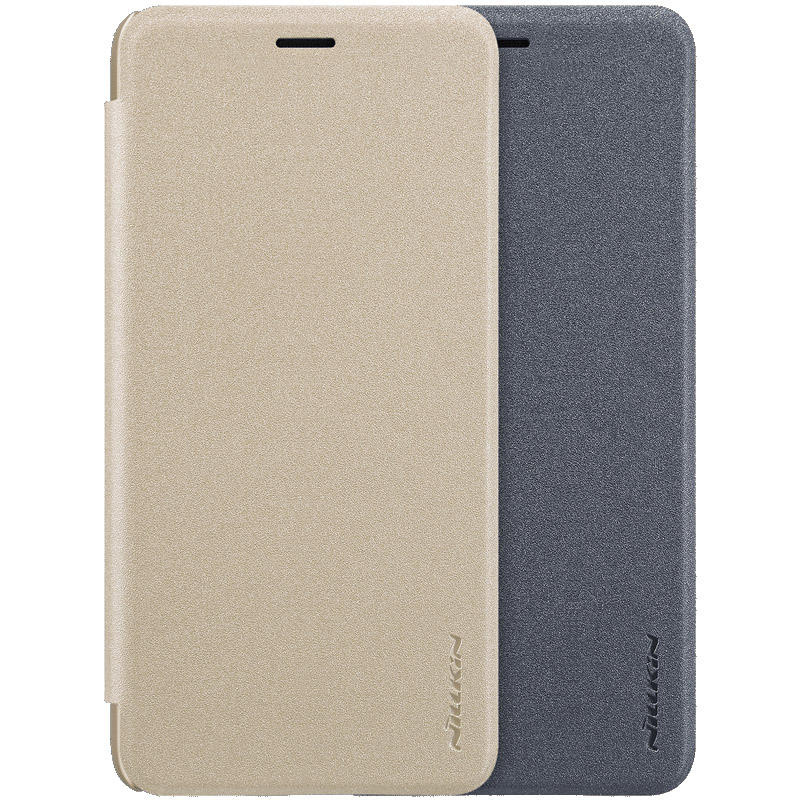 Nillkin Full Body Leather Flip Protective Case for Samsung Galaxy A7 2018