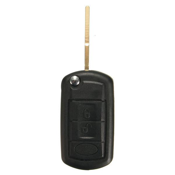 3Button Katlanır Uzakdan Kumanda Anahtar Fob 315MHz ID46 Chip, Land Rover Range Rover için 02-06