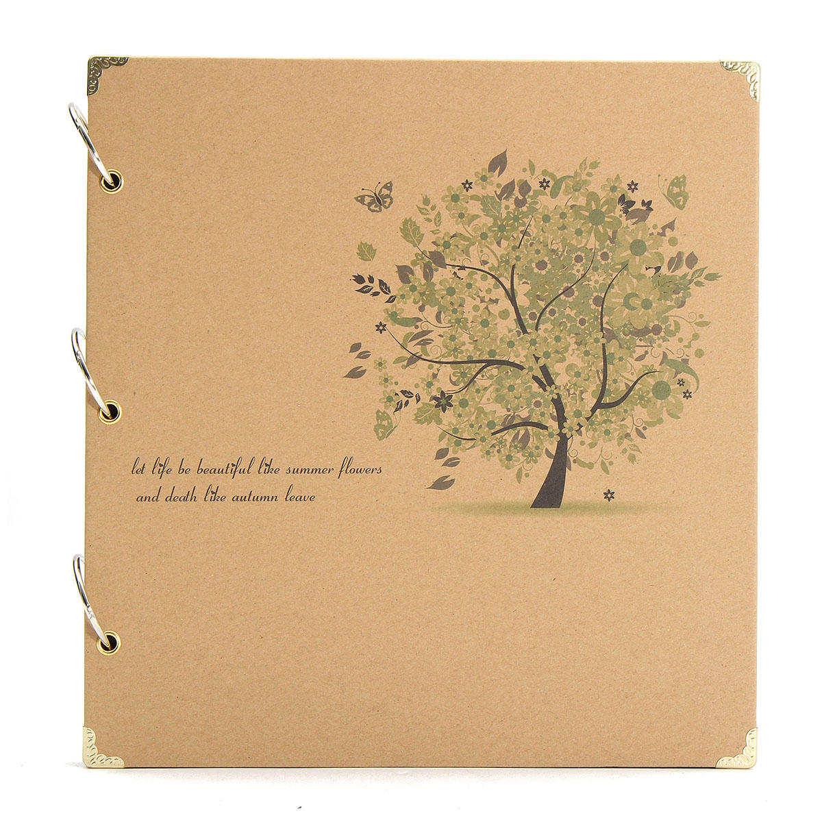 Diy Retro Photo Album Scrapbook Diary Notebook Wedding Birthday