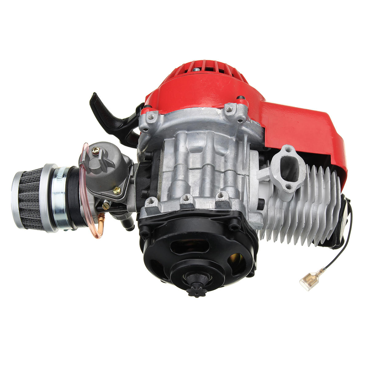 Engine 49cc 2 Stroke Motor Motorbike Mini Dirt Pocket Bike Atv Quad